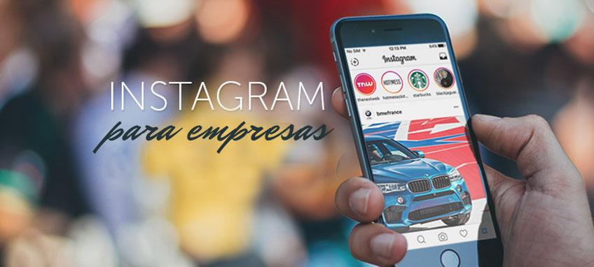 Instagram para empresas cover